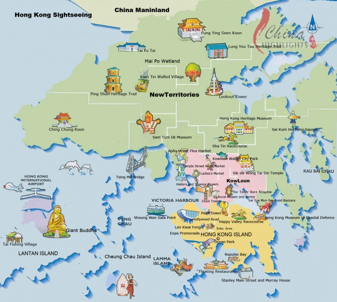 hong-kong-tourist-map