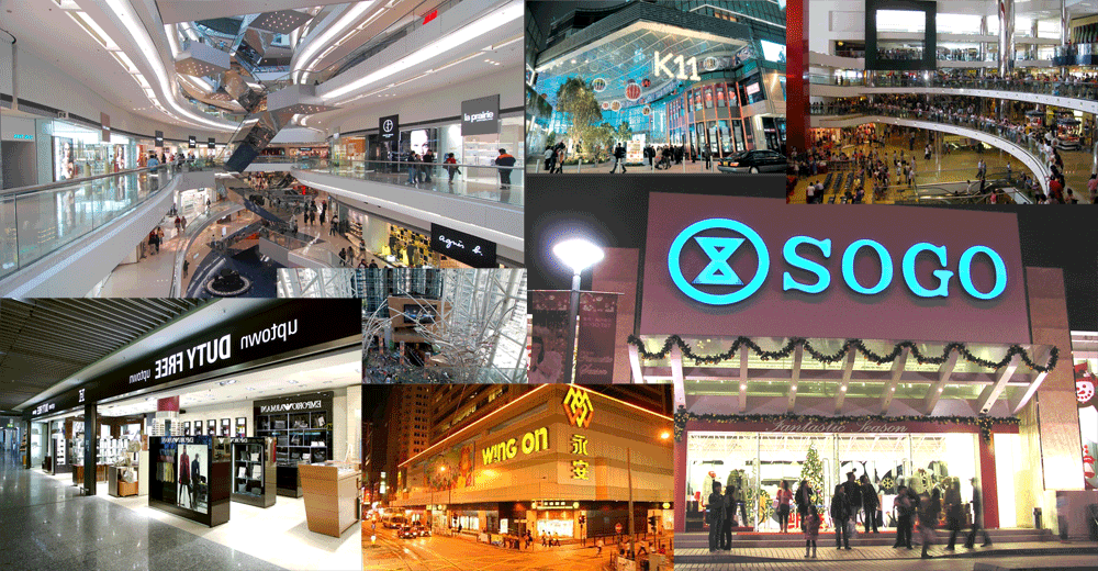8c4a9728852 Hong Kong s Top 20 Shopping Malls  with map